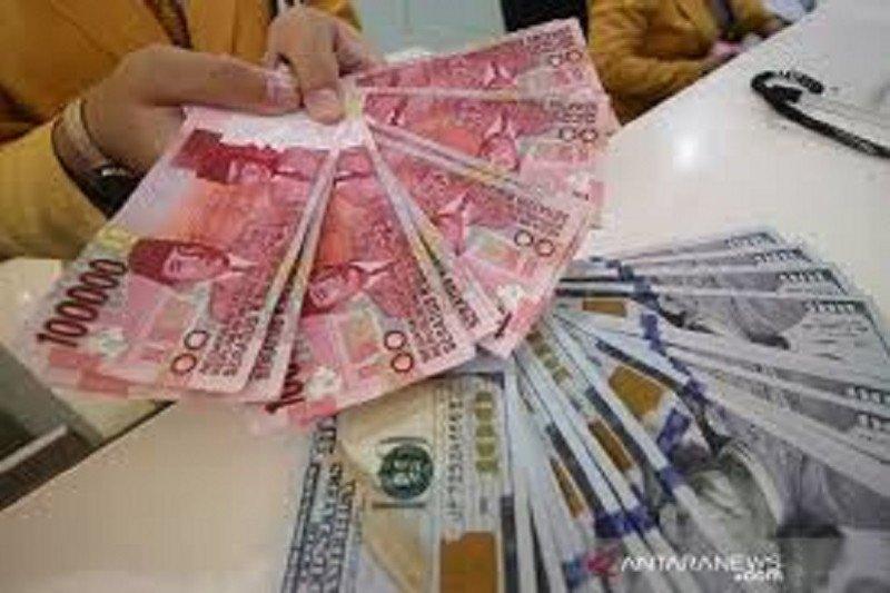 Rupiah Jumat pagi stagnan di posisi Rp14.660 per dolar