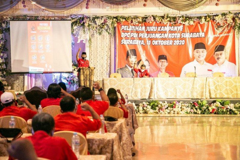 PDIP latih tim kampanye pemenangan Eri-Armuji pada Pilkada Surabaya