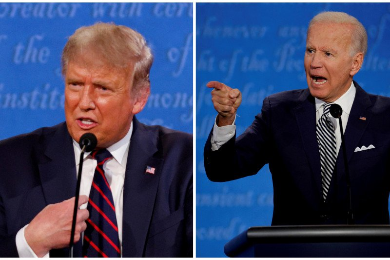 Telaah - Trump atau Biden?