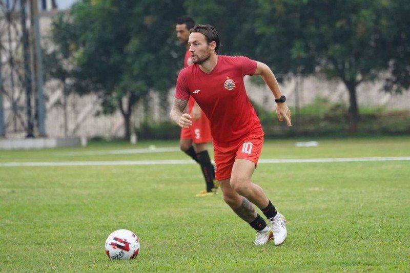 Klok dan Osvaldo cetak dua gol dalam laga internal Persija