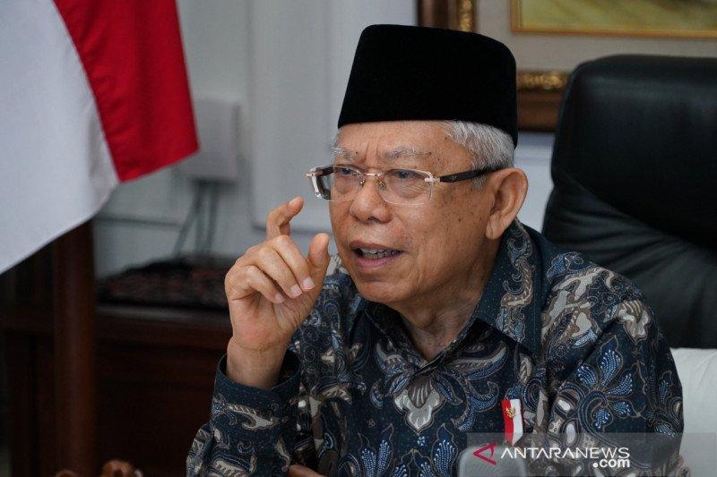 Ma'ruf Amin: Jika keberatan UU Cipta Kerja, jangan buat kegaduhan