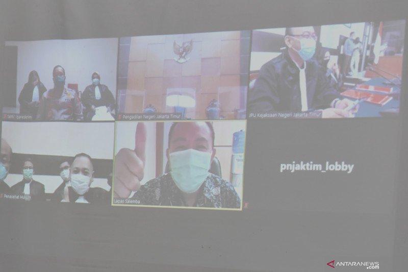 Sidang dakwaan kasus dokumen perjalanan palsu Djoko Tjandra