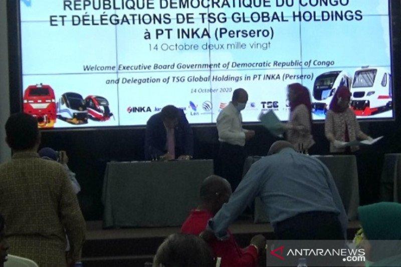 INKA tanda tangani proyek pengerjaan kereta dengan Kongo