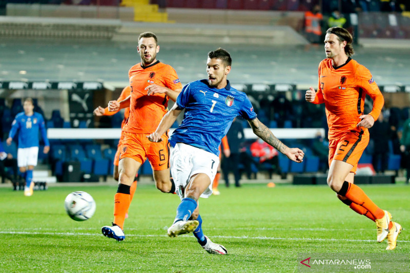 Pellegrini tambah daftar cedera timnas Italia jelang Euro 2020