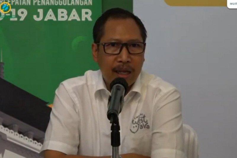 Empat kabupaten/kota Jabar terima hibah dari Kemenparekraf