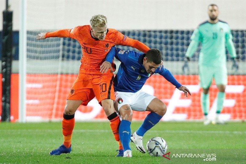 Italia, Belanda berbagi poin selepas main imbang 1-1