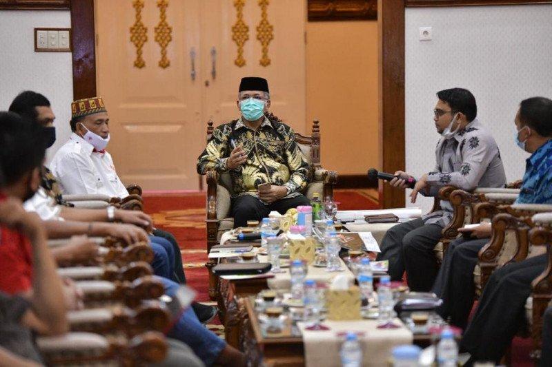 Plt Gubernur Aceh bahas Kesiapan PON Aceh-Sumut