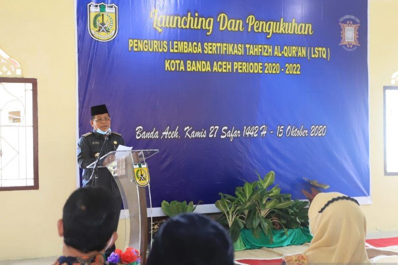 "Wali kota bertekad wujudkan Banda Aceh sebagai ""Kota Tahfiz"""