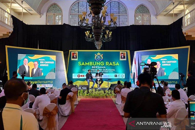 Eri-Armuji siap wujudkan ekosistem bisnis kelas dunia di Surabaya