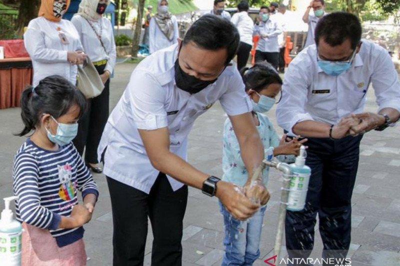 Bima Arya: masih banyak warga Kota Bogor belum biasa cuci tangan