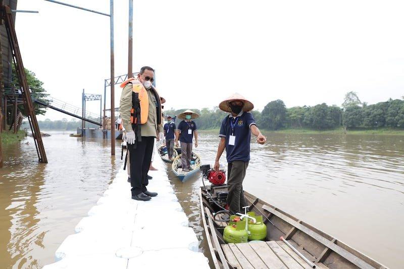 Nelayan Musi Banyuasin terima bantuan paket konversi BBM ke BBG