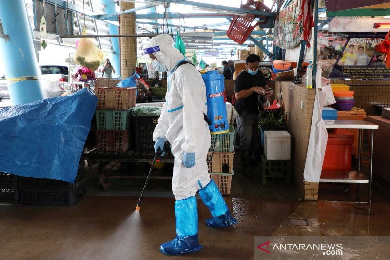 Malaysia catatkan 1.228 kasus baru COVID-19