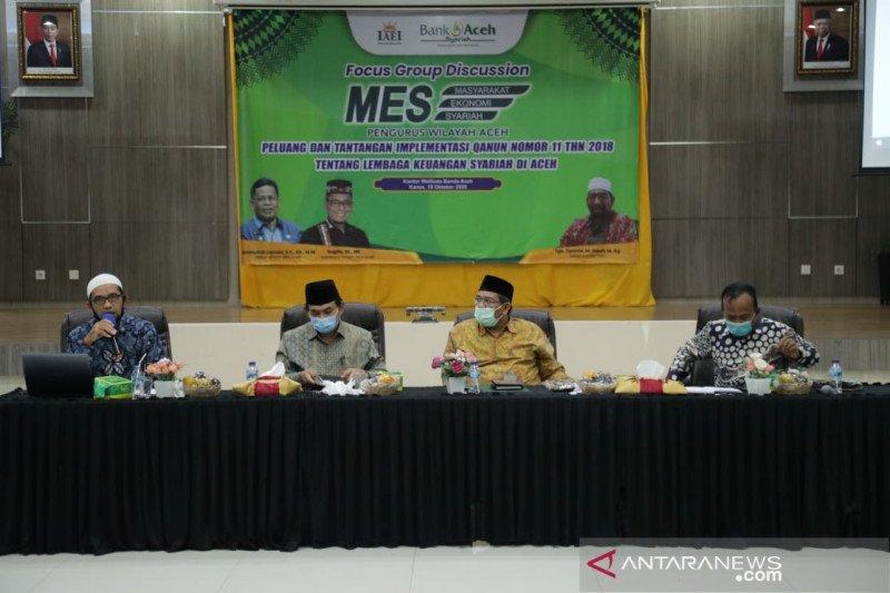 MES Aceh hadapi tantangan implementasi ekonomi syariah di 2021