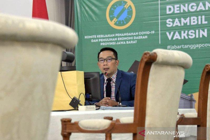 Ridwan Kamil dorong percepatan akses penghubung Kereta Cepat