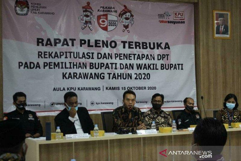 Pemilih Pilkada Karawang mencapai 1.643.490 orang