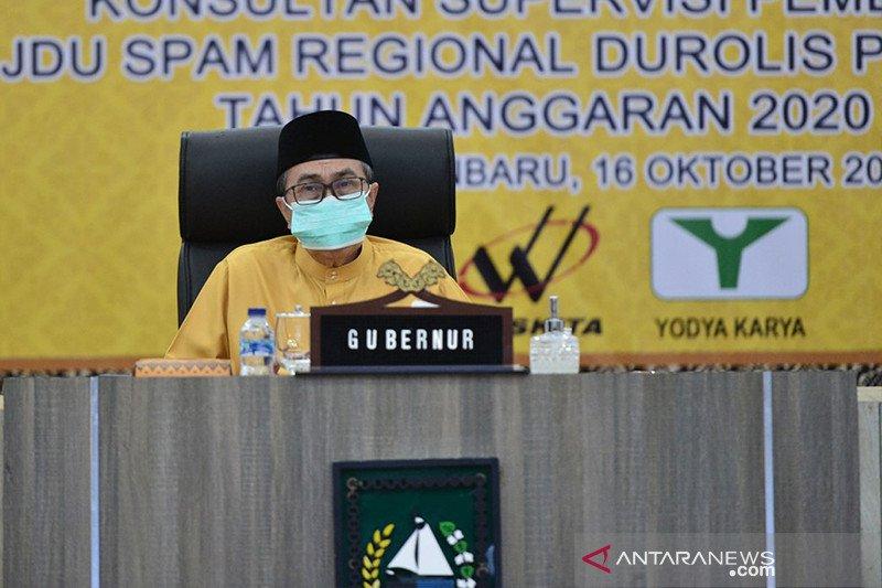 Gubernur Riau terbitkan maklumat larangan berkumpul cegah COVID-19