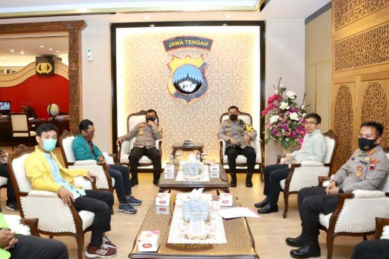 Kapolda Jateng: Tindakan hukum ke demonstran untuk ayomi masyarakat
