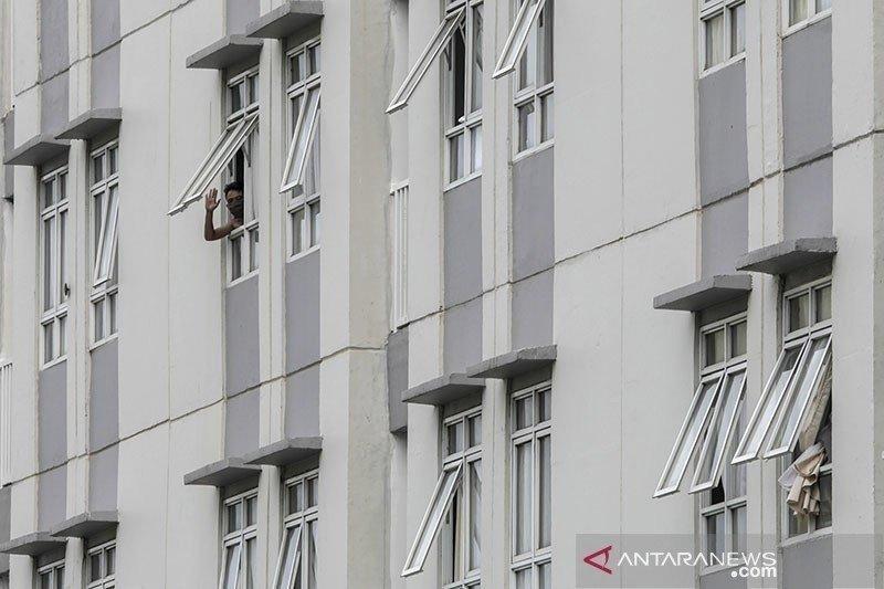 Pasien positif COVID-19 di Tower 6 dan 7 Wisma Atlet 1.492 orang