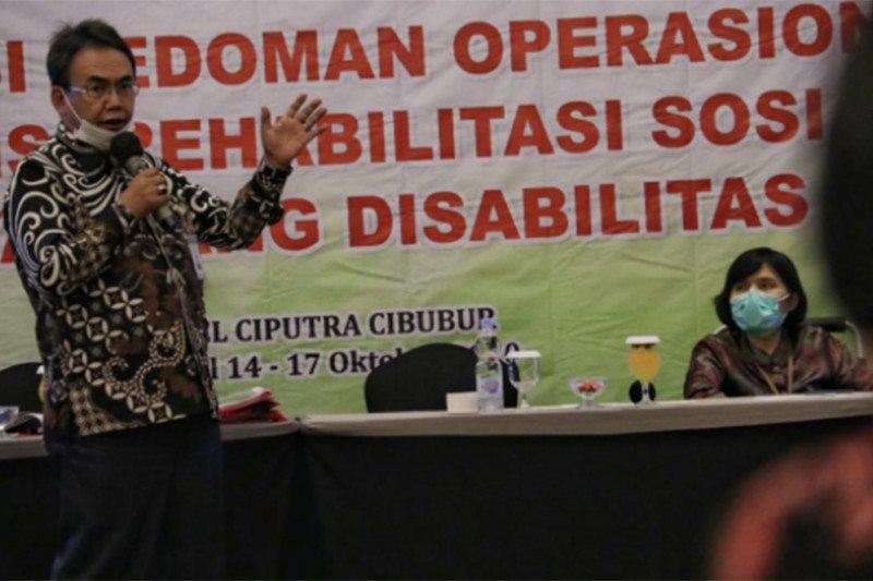 Kemensos: Peraturan Asistensi Rehabilitasi Sosial tinggal harmonisasi