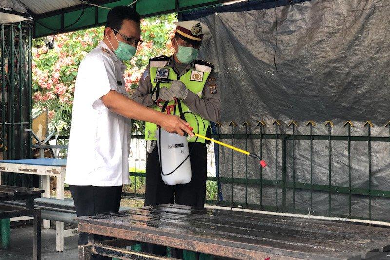 Yogyakarta terus bagikan alat disinfeksi untuk cegah persebaran corona