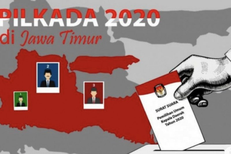 KPU Jatim: DPT terbanyak Surabaya, paling sedikit Kota Blitar