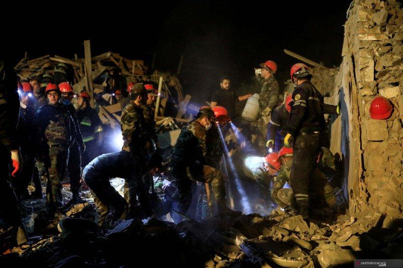 Serangan roket hantam kota Ganja di Azerbaijan