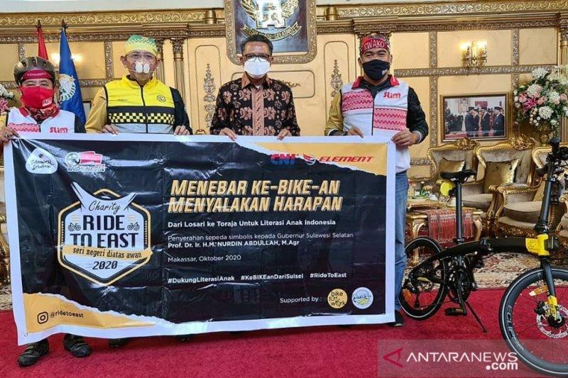 Hidup sehat, Gubernur ajak warga jadikan sepeda transportasi harian