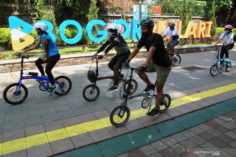 Pedestrian Kebun Raya Bogor di buka kembali