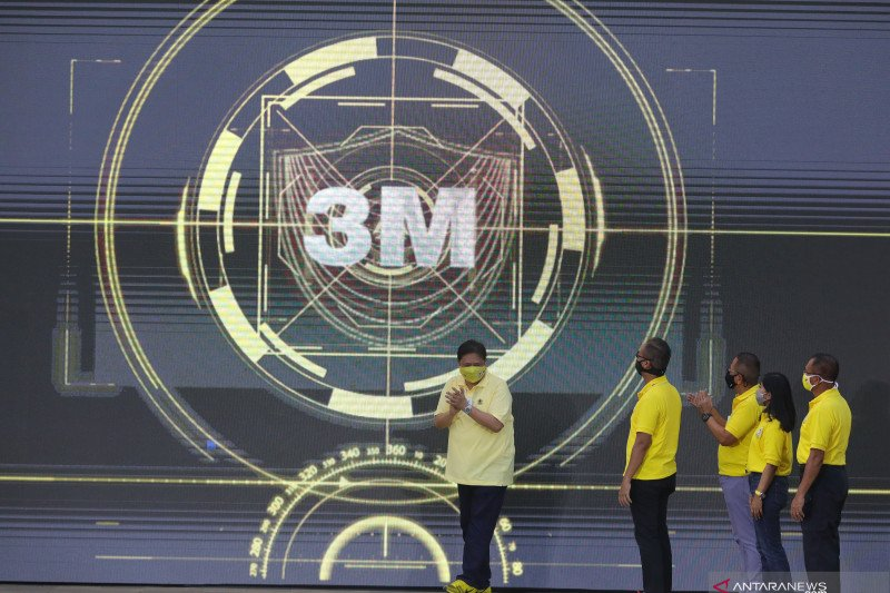 Golkar luncurkan kampanye Gerakan 3M wujudkan tema besar HUT ke-56