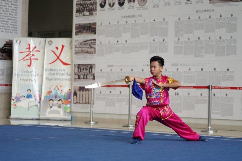 Rajawali Sakti juarai wushu Piala Airlangga Hartarto