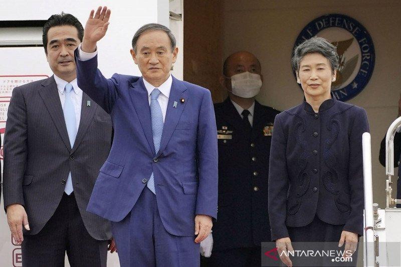 PM Jepang Yoshihide Suga bertolak menuju Vietnam dan Indonesia