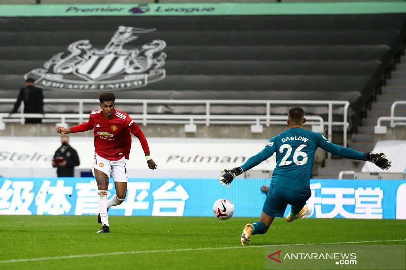 Manchester United hempaskan Newcastle berkat kesuburan 10 menit akhir