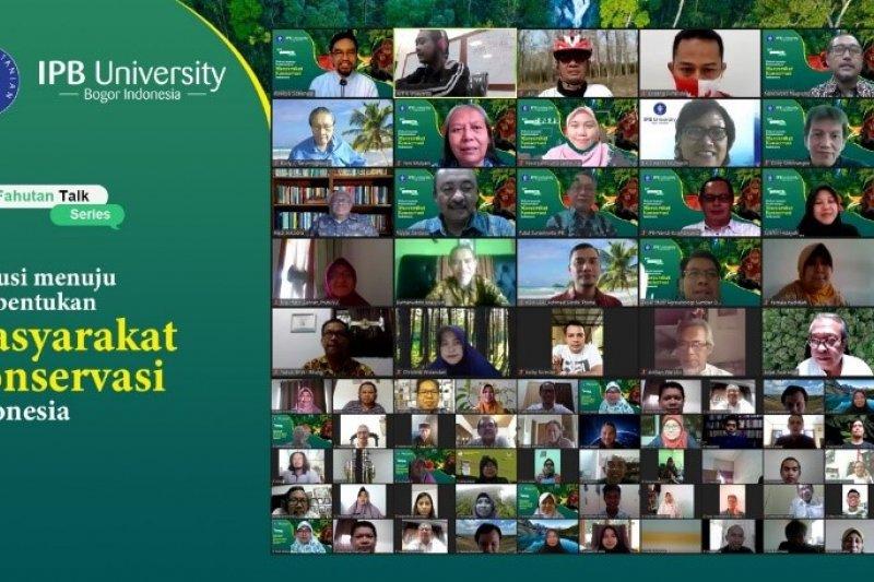 Masyarakat konservasi dideklarasikan Fakultas Kehutanan IPB University