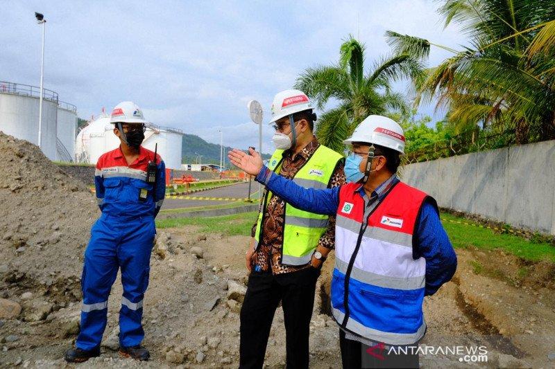 Direksi Pertamina tinjau sarana operasional distribusi energi di Bali
