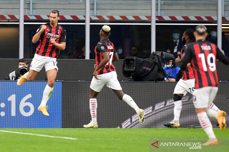 Liga Italia: Dua gol Ibrahimovic menangkan Milan atas Inter