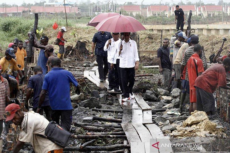 Realisasi anggaran padat karya tunai PEN di Papua capai Rp357,2 miliar