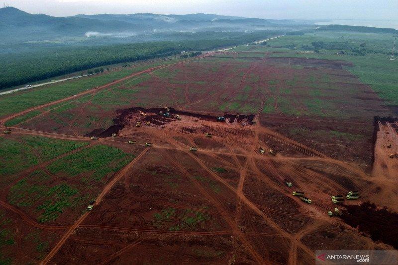 Pembangunan infrastruktur Kawasan Industri Terpadu Batang