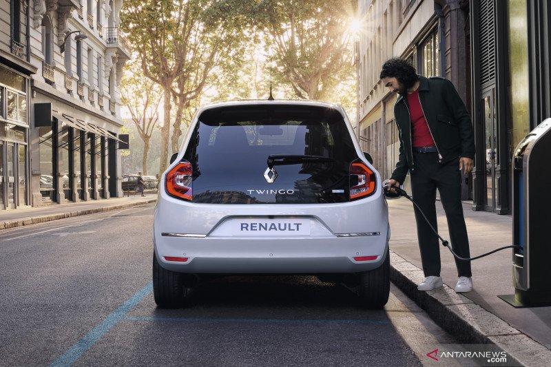 Renault Twingo listrik hanya perlu dicas seminggu sekali
