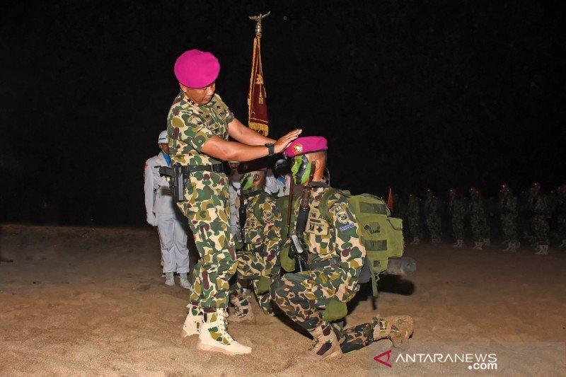 Marinir kukuhkan 345 bintara dan tamtama remaja