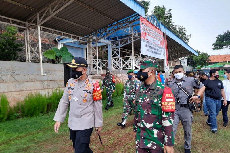 Polisi dan TNI Jaksel deklarasi