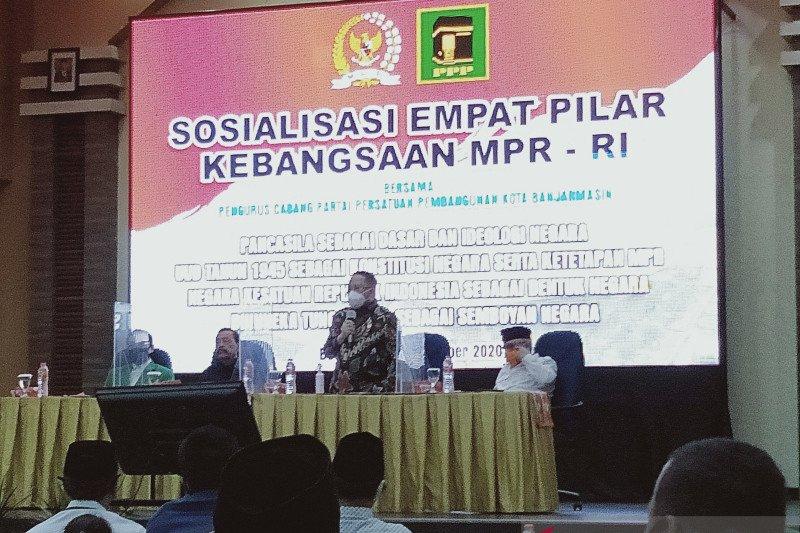 Anggota MPR RI Syaifullah Tamliha sosialisasi empat pilar kebangsaan
