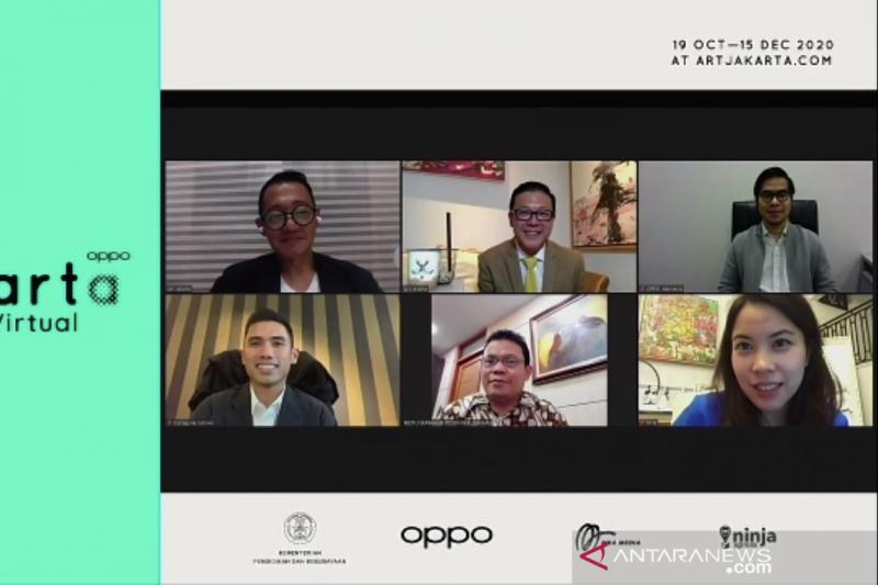OPPO Art Jakarta Virtual 2020 digelar mulai hari ini