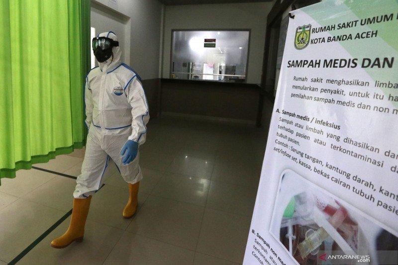 15 dokter positif COVID-19 di Aceh masih isolasi