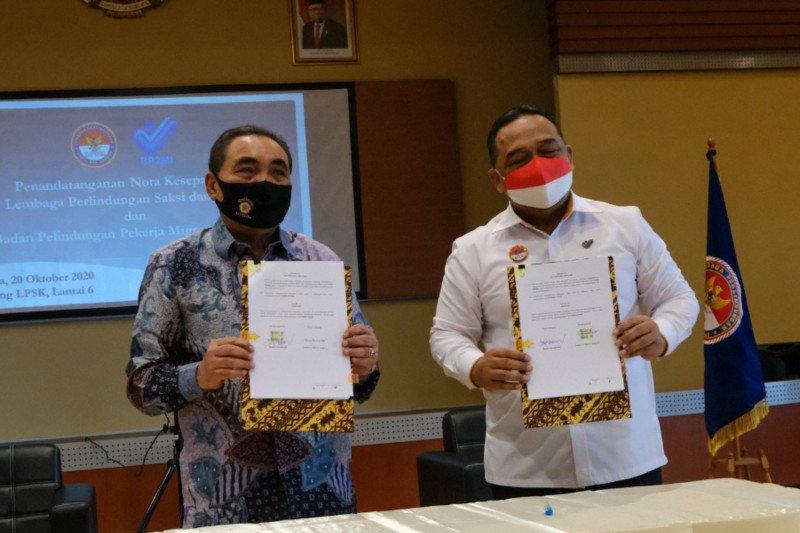 LPSK-BP2MI jalin kerja sama berikan perlindungan pekerja migran