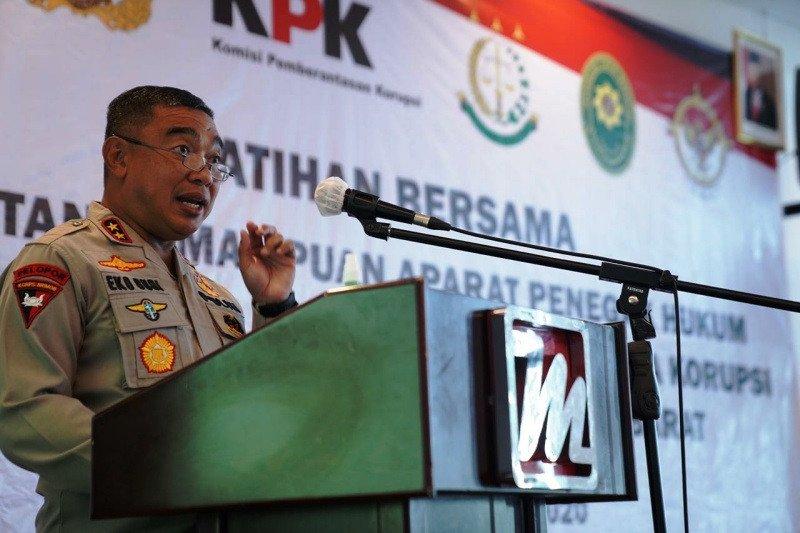 KPK gelar pelatihan peningkatan kemampuan penegak hukum di Sulbar