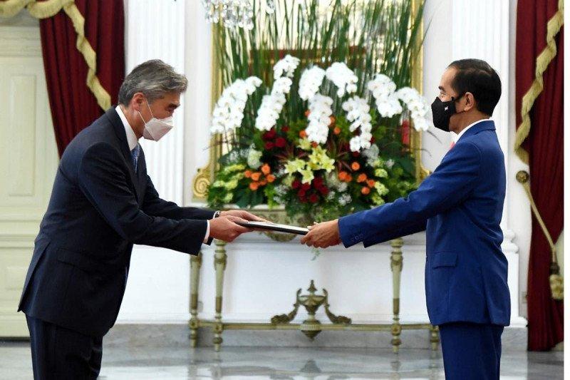 Dubes baru AS serahkan surat kepercayaan kepada Presiden Jokowi