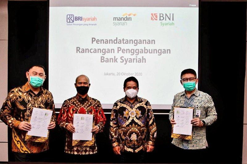 Rancangan merger bank syariah rilis, Mandiri pemegang saham terbesar