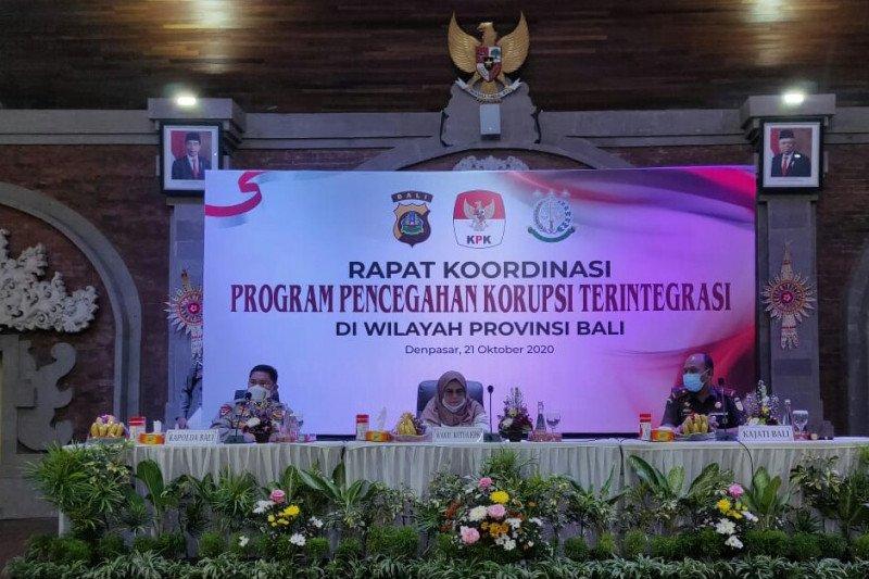 KPK dorong APH di Bali optimalkan kerja sama bidang penindakan
