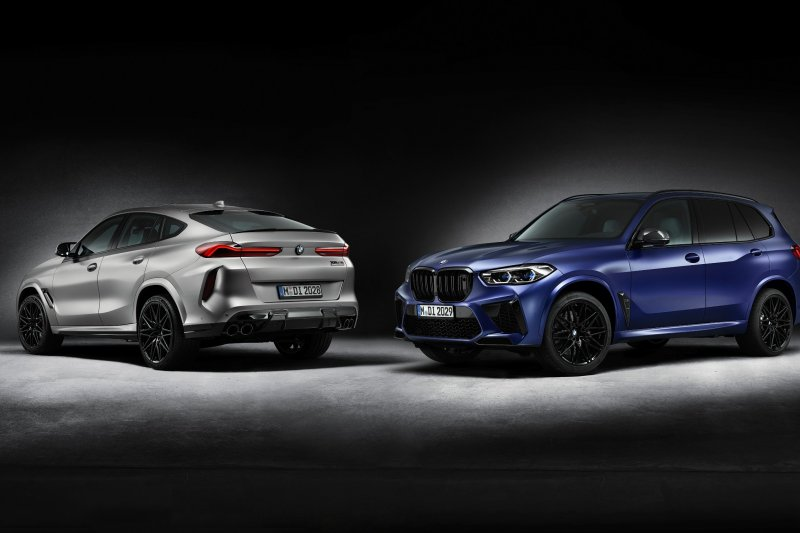 BMW X5 M Dan X6 M Competition diluncurkan hanya 250 unit
