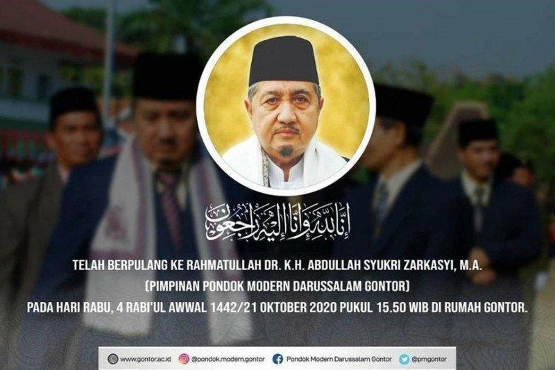 Pimpinan Pondok Gontor KH Abdullah Syukri Zarkasyi wafat